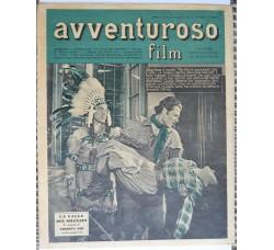 AVVENTUROSO FILM n.43-1950 rivista di Fotoromanzi e Sport - vedi le foto
