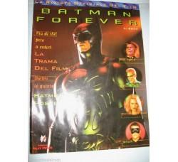 BATMAN FOREVER rivista ufficiale film, poster centrale - Play 1994 - FUM3-17