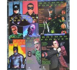 BATMAN FOREVER 5 riviste dal film 1995 - vedi le foto