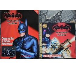 BATMAN & ROBIN 2 riviste dal film 1997 + SPAWN Merchandis, vedi le foto