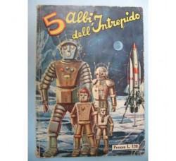 5 ALBI dell'INTREPIDO Raccolta n.211 /1960 -