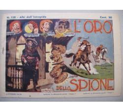 Albi dell'Intrepido 138 - 1941 L'ORO dello SCORPIONE - originale - Ottimo
