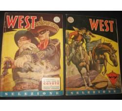 WEST SELEZIONE n.1/12 - 1949/50  - Coyote di F. Batet C. Cossio