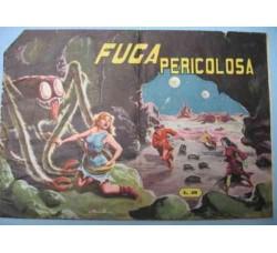"""Albi De L'Avventura n.3 """"FUGA PERICOLOSA"""" ed. Capriotti 1955"""