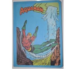 AQUAMAN - Quaderno anni 70 intonso