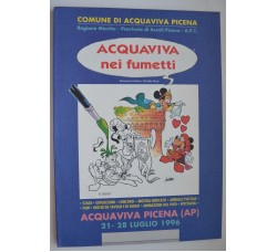 ACQUAVIVA NEI FUMETTI - catalogo Mostra '96 Pazienza Liberatore Cavazzano