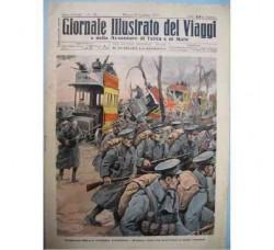 GIORNALE DEI VIAGGI N.2 - GEN. 1917 WW1 prima guerra mondiale