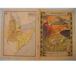 AZIONE AEREA Africa Orientale - Copertina di Quaderno