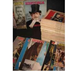 HISTORIA rivista 135 numeri dal 9 al 99 1958/66