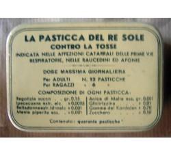 Scatola in latta - La Pasticca del Re Sole - A. Gazzoni & C Bologna