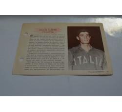 VELLUTI CLAUDIO figurina Pallacanestro n.19/20 Enciclopedia Sport 1959