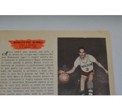 ROMANUTTI ROMEO fig. Pallacanestro n.15/16 Enciclopedia Sport 1959