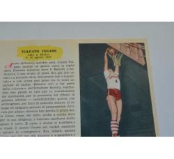 VOLPATO SERGIO fig. Pallacanestro n.9/10 Enciclopedia Sport 1959
