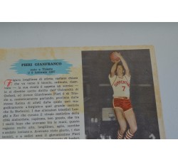 PIERI GIANFRANCO fig. Pallacanestro n.5/6 Enciclopedia Sport 1959
