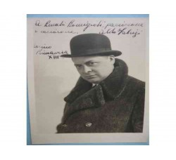 Aldo Fabrizzi - Attore, foto con dedica e autografo originale 1935 - bellissima!