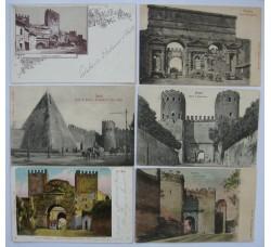 17 cartoline eccellenti - Porte di ROMA - tutte primi 900 - vedi dettagli