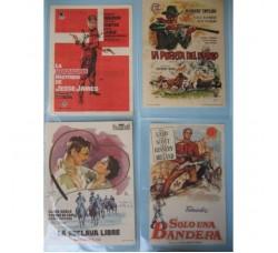 28 mini LOCANDINE, VOLANTINI - CINEMA FILM western (SPAGNA)