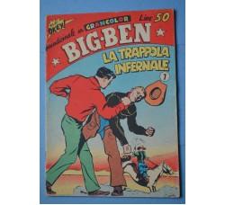 Albi Okey BIG BEN n.7 ed. Astorina 1962 - ottimo
