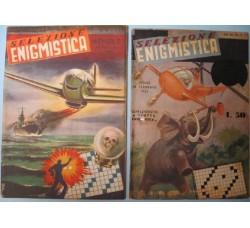 SELEZIONE ENIGMISTICA nuova serie n.3 + supplemento 1951 (raccolta dei n. 4 e 5) ed. Panorama 1950/51