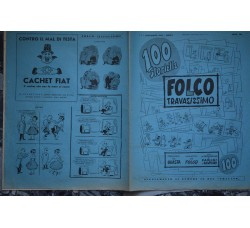 FOLCO TRAVASISSIMO supplemento 100 al TRAVASO 1955 Monografia F. Di Santo