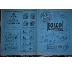 FOLCO TRAVASISSIMO supplemento 100 al TRAVASO 1955 Monografia F. Di Santo