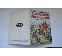 """Emilio Salgari Col. Novelle n.34 1940 """"La Corriera della California"""""""