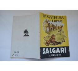 Collana Salgari Novelle Carroccio n° 29 - Un'Avventura nel Congo - 1945