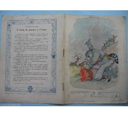 FIABE  - lotto 3 quaderni d'epoca illustrati - vedi foto e dettagli