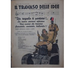IL TRAVASO 1936 n.8 - Musica, Canzone, spartito, Londra, Palestina, ..