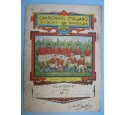 TORINO F.C. calcio DIV. Nazionale A - QUADERNO 1929-1930