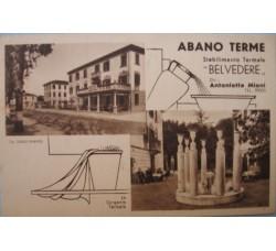 ABANO Padova - lotto 4 cartoline d'epoca - vedi foto e dettagli