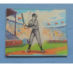 BASEBALL Figurina Animata Flicker original Vari-Vue USA cm. 6,5 x 5
