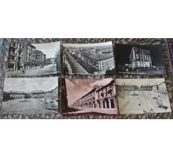 CUNEO Città - 6 cartoline d'epoca - vedi le foto per dettagli -