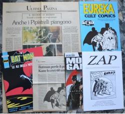 BATMAN lotto riviste, fanzine, articoli, ... Vedi dettagli - Ottimi