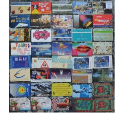 Lotto misto 40 schede Estere e Italiane, NUOVE E USATE - vedi FOTO PER DETTAGLI