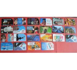 lotto 22 schede Telecom SIP L. 10.000, anche rare - vedi foto