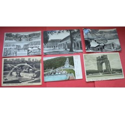 CASERTA - 6 cartoline d'epoca (anche stazione) - vedi foto per dettagli