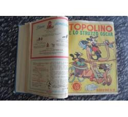 ALBI D'ORO Mondadori - volume con 17 numeri rilegati periodo 1946-48 Originali