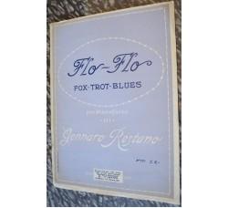 FLO FLO - Fox-trot-blues spartito musica canzone di G. Restano