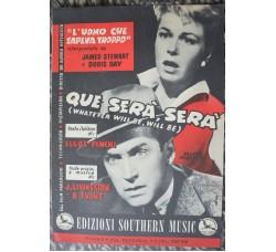 L'Uomo che sapeva Troppo - 1955 - spartito musica film - QUE SERA' SERA'