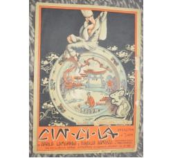 operetta Cin Cin La  1925 - spartito musica canzone BLUES DEL CARILLON