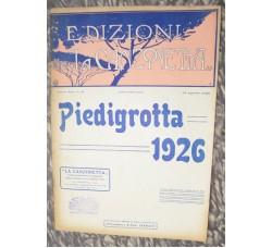 PIEDIGROTTA 1926 n.8 Rivista di Musica Napoletana, spartiti canzoni e notizie