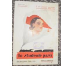canzone LO STUDENTE PASSA - Ibanez / Chiappo - spartito musicale 1929