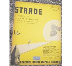 """canzone - QUEL MOTIVETTO CHE MI PIACE TANTO - dalla rivista """"Strade"""" 1932"""