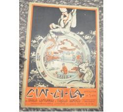 operetta Cin Cin La - spartito musica canzone - BOX D'AMORE  - 1925