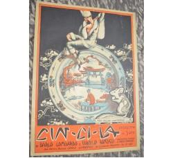 operetta Cin Cin La - spartito musica canzone IL FOX DELLE LANTERNE - 1925