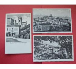 CASALVIERI (Frosinone) lotto 3 cartoline d'epoca - Ottime