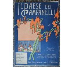 IL PAESE dei CAMPANELLI; ROMANZA di NELA operetta 1923