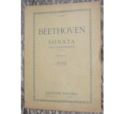 BEETHOVEN  Sonata per piano Op. 27 n.2 - Ricordi 1919 -