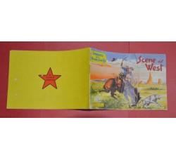 """Album Figurine """"Scene del West"""" Omaggio Piccolo Sceriffo n.1 - 1956 - ORIGINALE"""